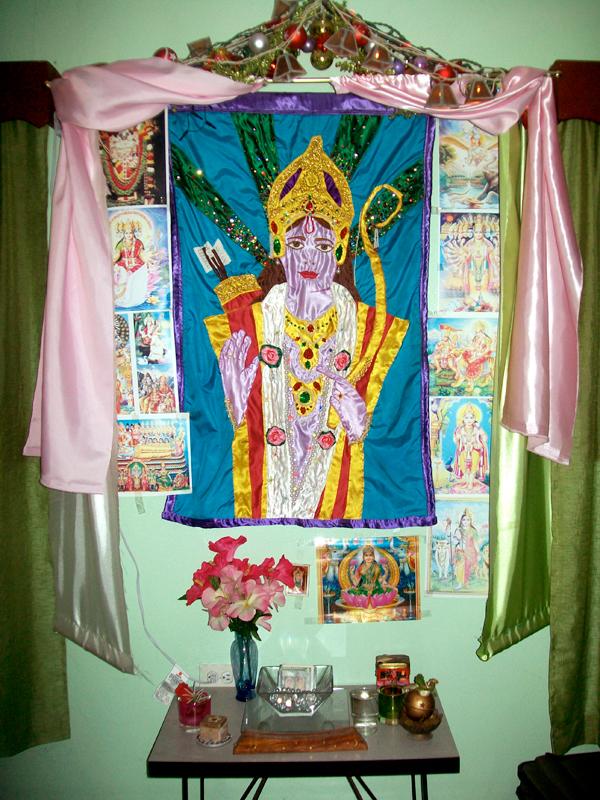Full Tapestry in the Altar