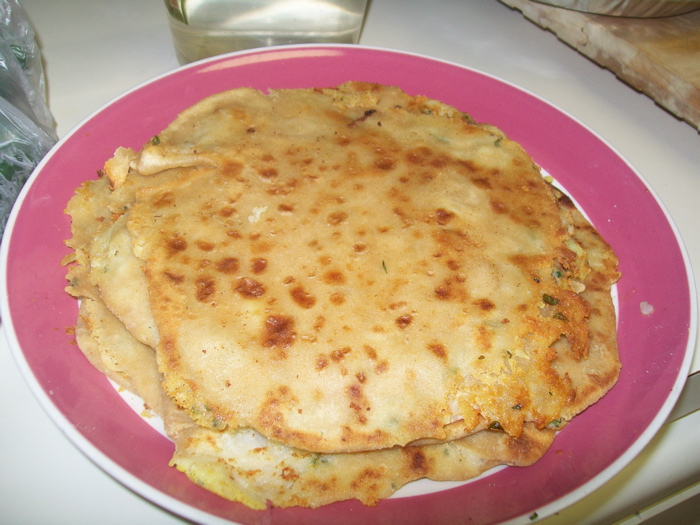 Indian Bread Stuffed with Potatoes