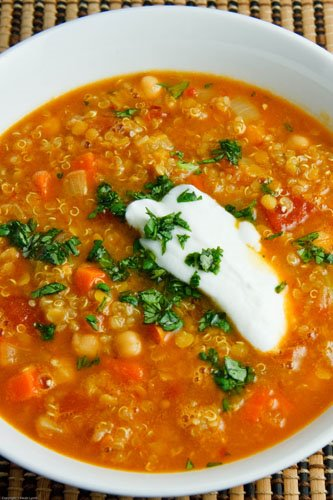 Lentils are super healthy and lowfat