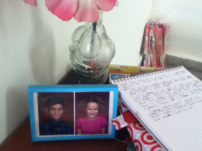 Elsa & Marcos' school pictures… it's all about bringing our family together