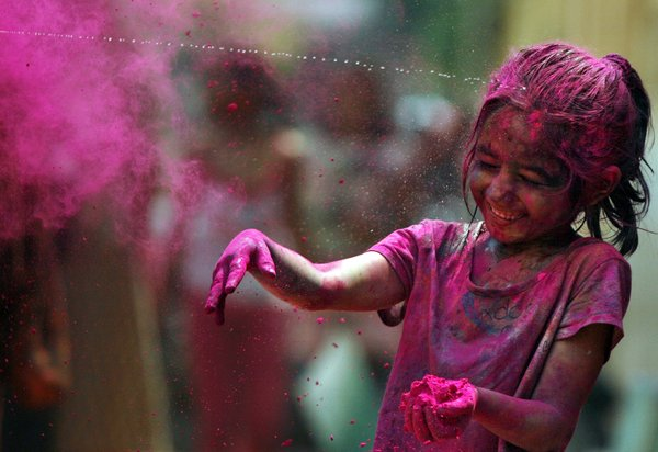 India recently celebrated the festival of Holi