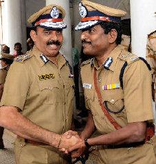 Policemen in Chennai