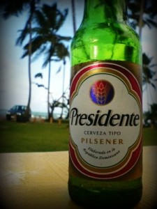 The national beer of choice for most Dominicans.
